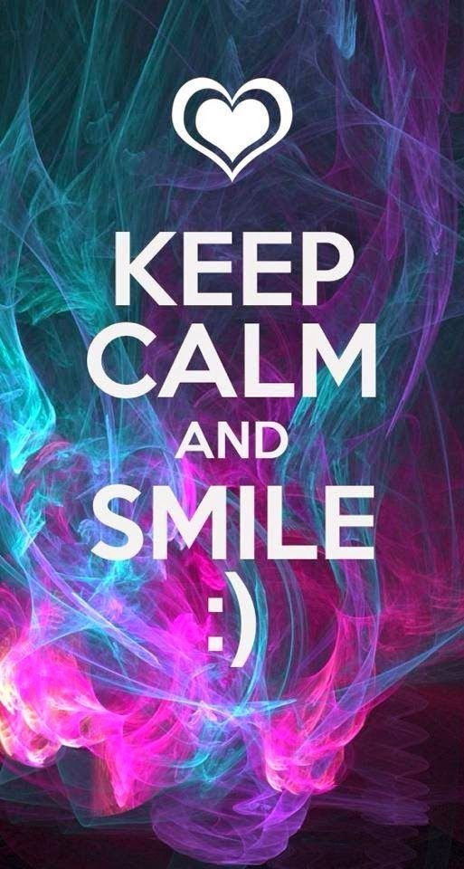 Keep Calm And Smile Pictures Photos And Images For Facebook