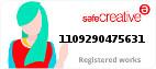 Safe Creative #1109290475631