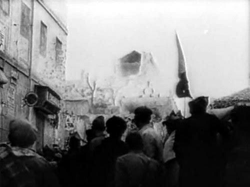 Republicanos aguardando ver las explosiones de las minas