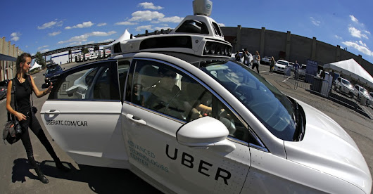 Self-Driving Ubers Have Arrived in Pittsburgh - The Atlantic