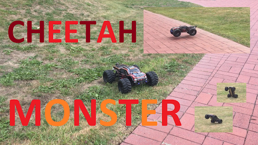 Quick Preview - Cheetah Monster Truck (3S Battery) — Steemit
