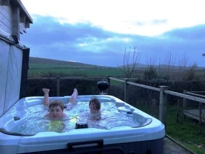 Tom's Eco Lodge at Tapnell Farm Park, Isle of Wight