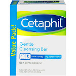 Cetaphil Gentle Cleansing Bars 3pk - 13.5oz