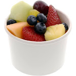 8 oz. White Paper Food Containers, Case of 500