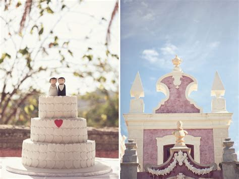 A Whimsical Portugal Wedding: Juana   António   Green