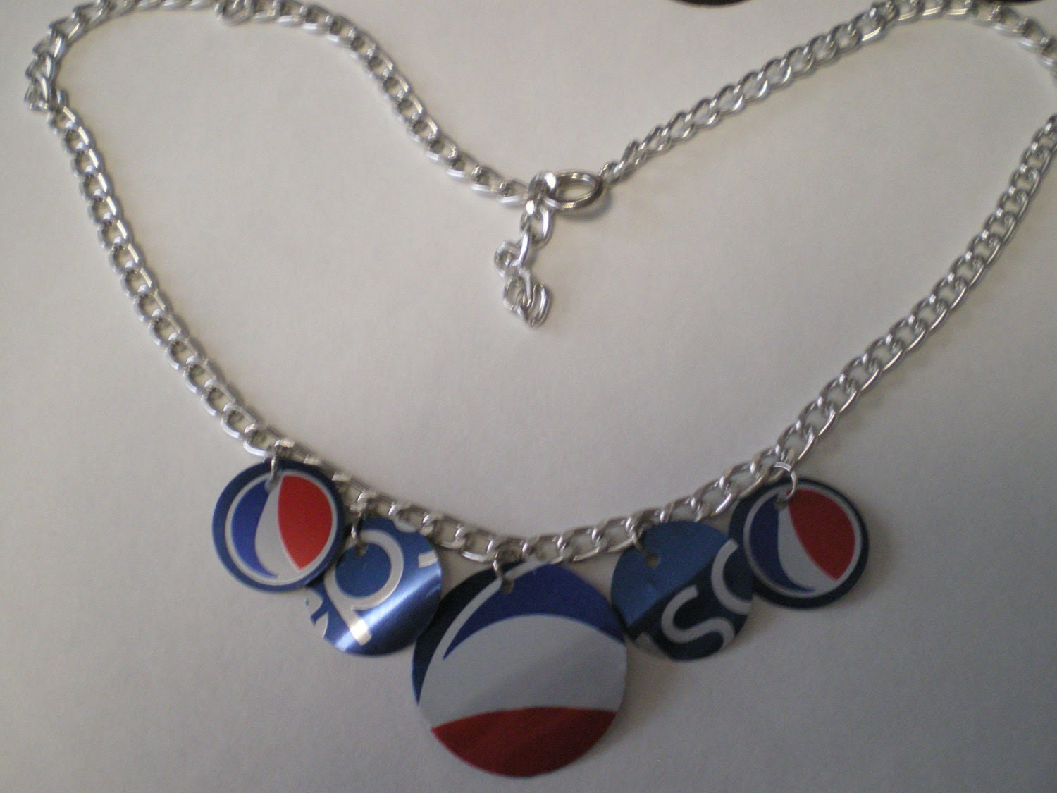 Soda Can Necklace - Pepsi