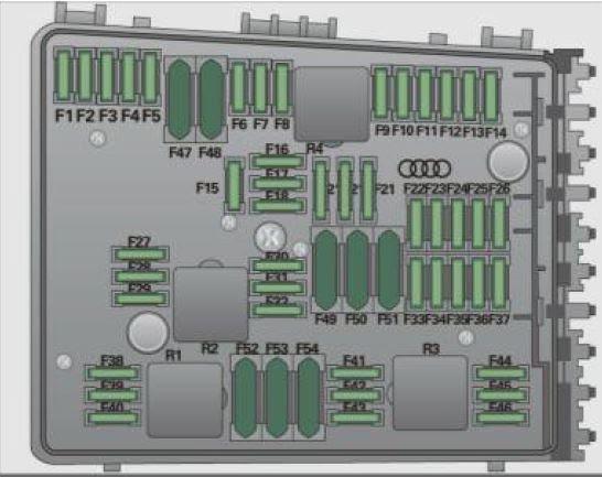 Audi A3 Fuel Pump Relay Location