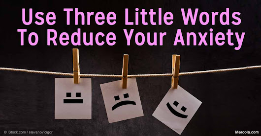 A Simple Way to Reduce Your Anxiety