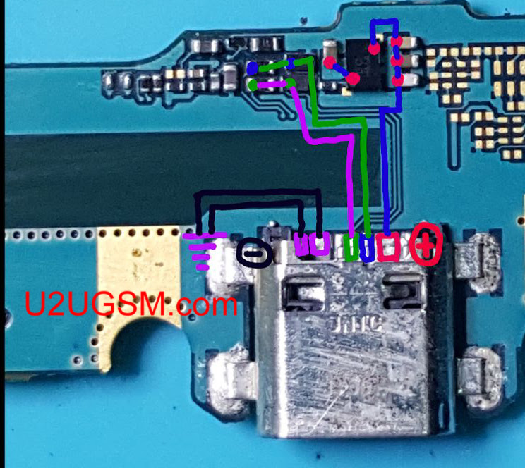 Samsung  Galaxy J7 Core J701F Usb Charging Problem Solution Jumper Ways
