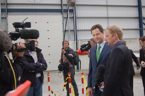 Nick Clegg visit Newcastle Apr 10 8