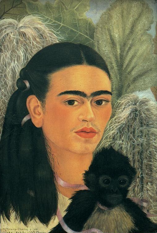 Frida Kahlo. Fulang-Chang and I.