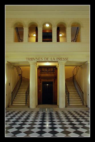 Assemblée Nationale - Tribunes de la Presse