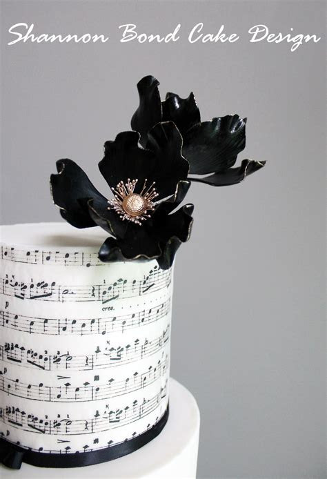 Music And Lace Wedding Cake   CakeCentral.com