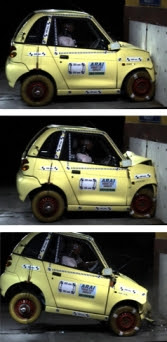 2008 G-Wiz crash test