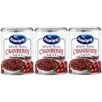 Ocean Spray Whole Berry Cranberry Sauce 3 Can Pack