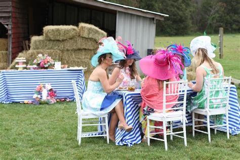 Kara's Party Ideas Kentucky Derby Garden Party   Kara's