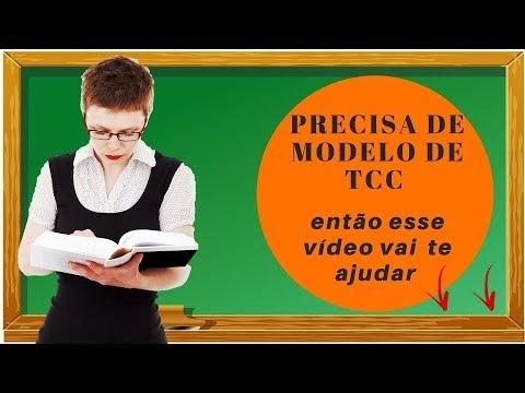 MODELOS DE TCC SAIBA COMO FAZER DE ACORDO COM A ABNT