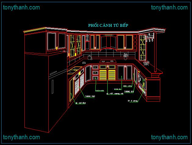 kitchen autocad drawing 59