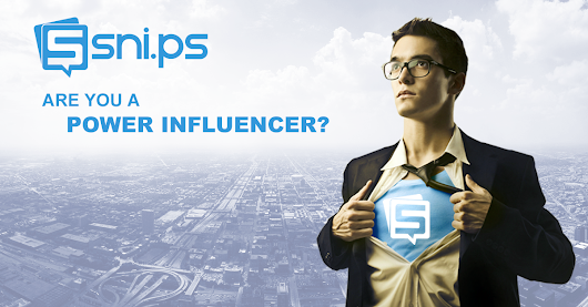 Join the Snips Influencer Network