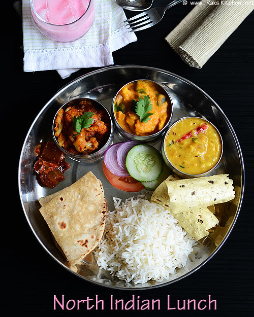 Lunch Menu South Indian