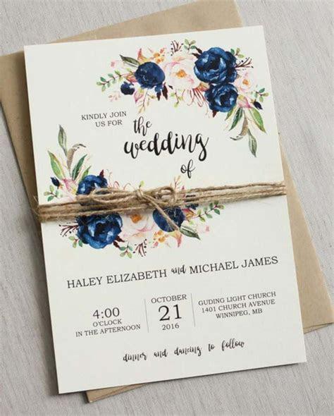 16 Beautiful Wedding Invitation Ideas   Design Listicle