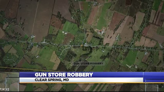 Police searching for suspects who stole 19 guns from Clear Spring