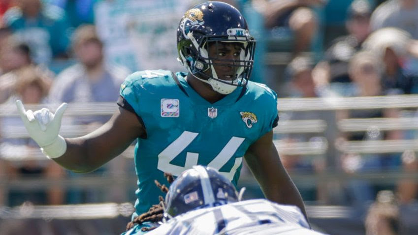 Myles Jack won't travel to London, out for Jaguars-Dolphins
