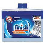 Finish Dishwasher Cleaner, Fresh, 8.45 oz Bottle, 6/Carton