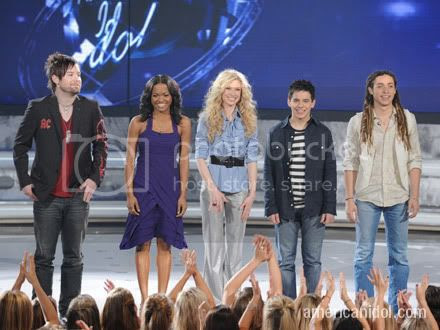 American Idol Season 7 - Top 5