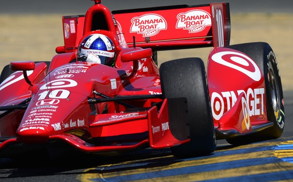 Dario Franchitti - GoPro Indy Grand Prix of Sonoma