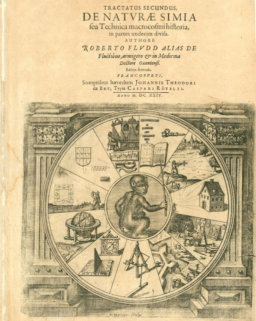 De Naturae Simia - Titlepage