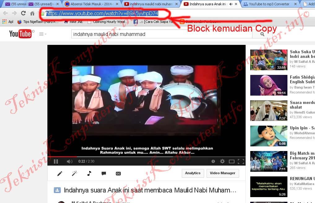 Cara Download Youtube Di Android Jadi Mp3