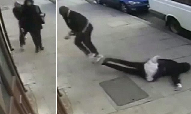 Hijab-wearing Muslim knocked to the floor unconscious in Newham