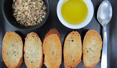 Toasts au Dukkah