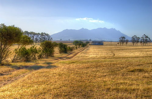 Riebeek Kasteel vista