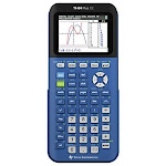 Texas Instruments TI-84 Plus CE Blueberry Graphing Calculator - Unlimited Cellular