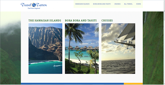 New responsive WordPress website for local travel agent |
