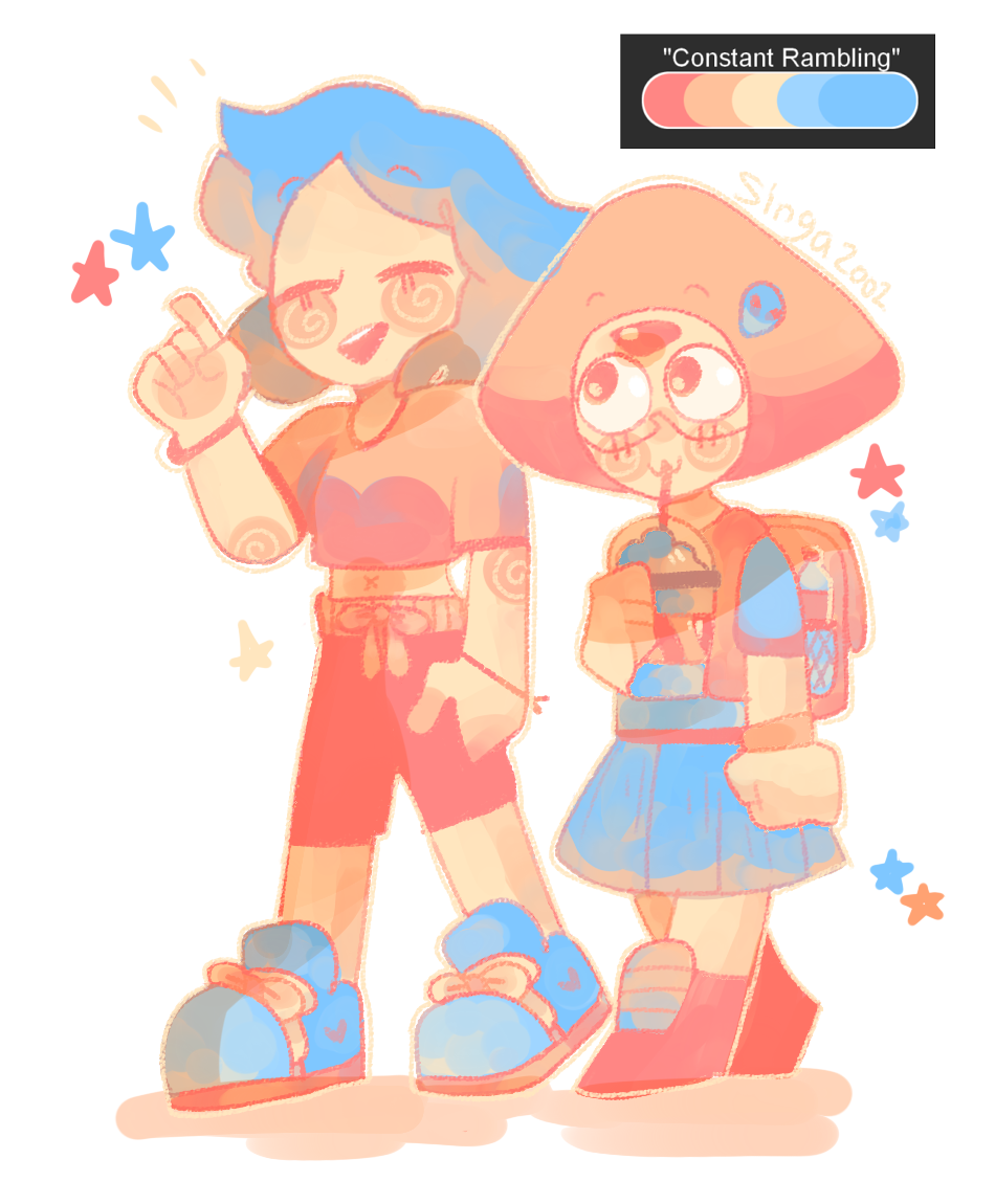 some more palette drawings!