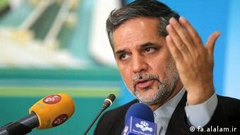 Seyyed Hossein Naghavi Hosseini, Sprecher des Ausschusses für nationale sicherheit und außenpolitik im iranischen Parlament (fa.alalam.ir)