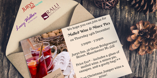 Mulled Wine & Mince Pies Networking!