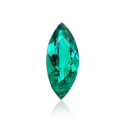 1.20 carat, Green, COLOMBIAN Emerald, Marquise Shape, SKU