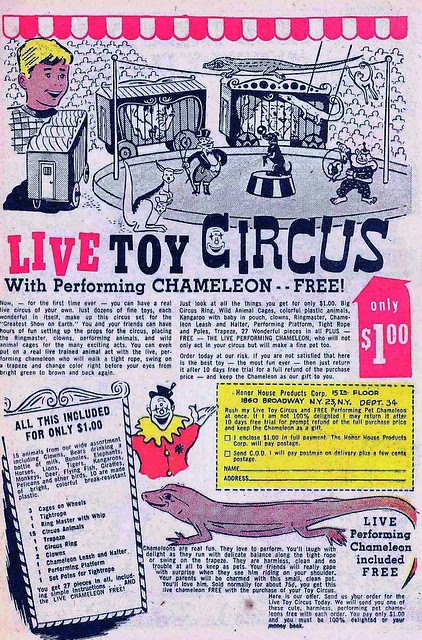 Mail Order Monday - Live Toy Circus (1954)