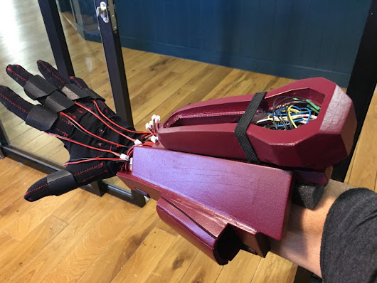 Building a Haptic Feedback Glove for Virtual Reality
