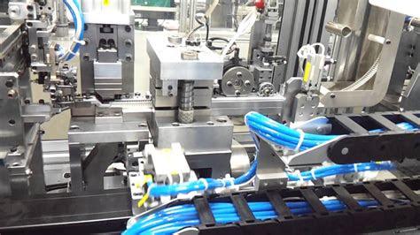 automation pin inserting machine  ways youtube