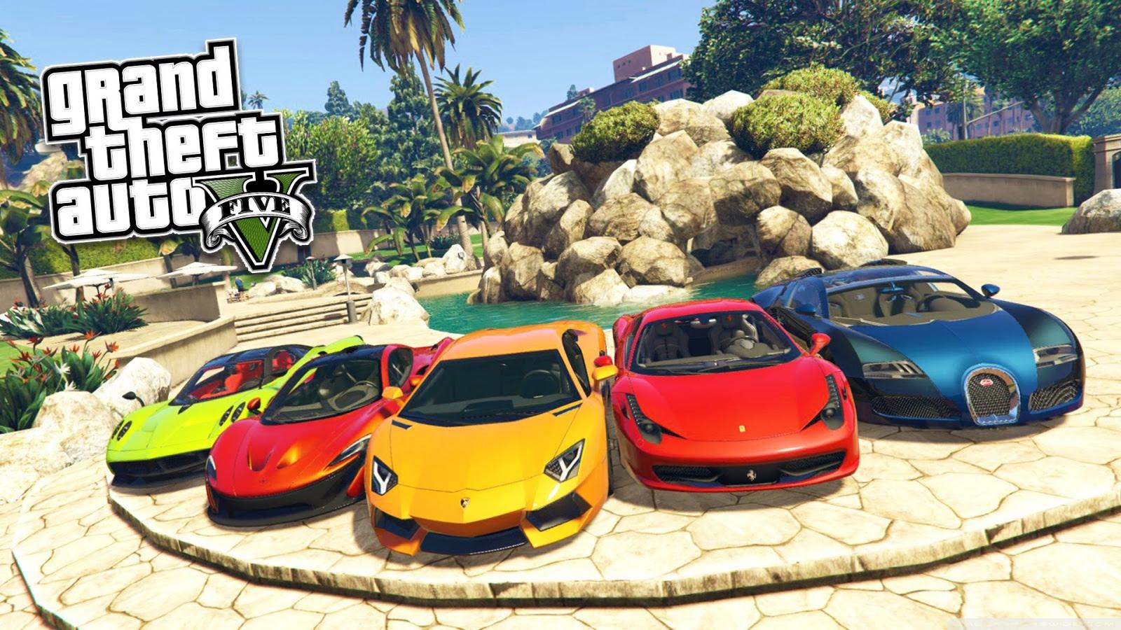 Grand Theft Auto V Cars Ultra Hd Desktop Background Wallpaper For