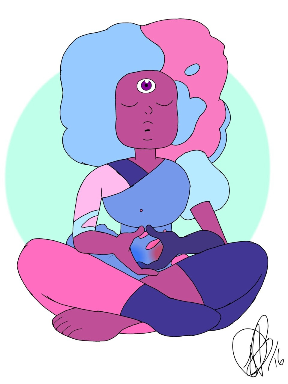 Garnet learning to know herself