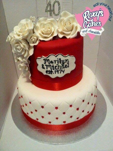 anniversary cakes ideas  pinterest