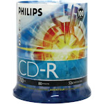 Philips CDR80D52N Storage media - CD-R - 52x 700 MB