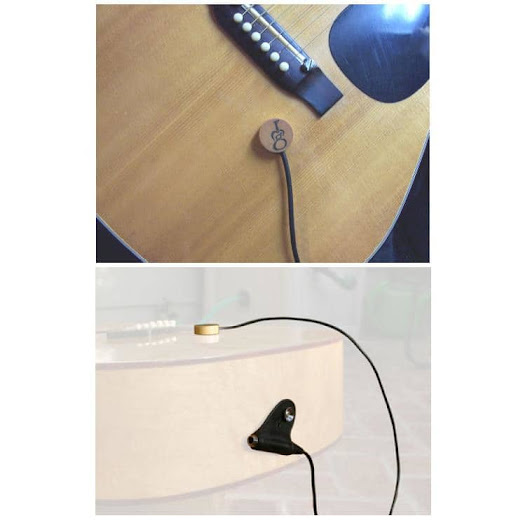 "GMF AT-1S Acoustic Transducer Pickup (With ""strap pin"" jack)"