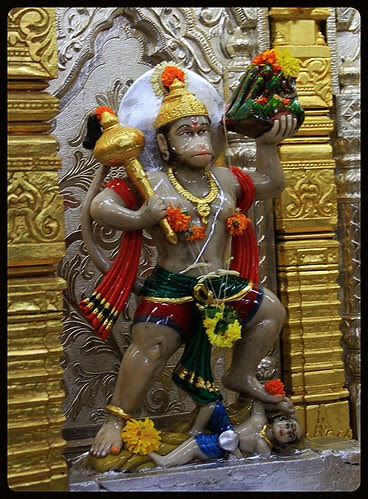 Om Namo Hanumate Namaha. by firoze shakir photographerno1